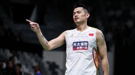 Lin Dan sebagai salah satu pebulutangkis terbaik di dunia yang pernah ada, dengan capaian fantastis 'Super Grand Slam'. - INDOSPORT