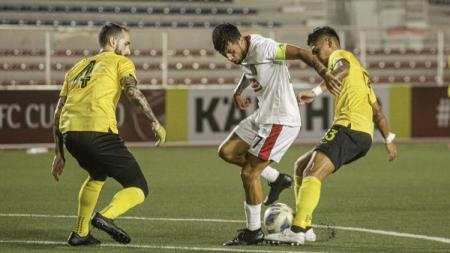 Terdapat 3 fakta menyedihkan Bali United usai dibantai Ceres-Negros dengan skor 4-0 di Piala AFC 2020, Rabu (11/03/20) malam waktu setempat. - INDOSPORT