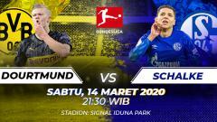 Indosport - Berikut prediksi pertandingan antara Borussia Dortmund vs Schalke dalam lanjutan Bundesliga Jerman pekan ke-26, Sabtu (14/03/20) malam WIB.