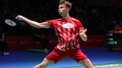 Indosport - Kejutan kembali terjadi di kompetisi Swiss Open 2021, unggulan 3 asal Denmark yakni Rasmus Gemke dikalahkan oleh pebulutangkis peringkat 60 dunia Ajay Jayaram.