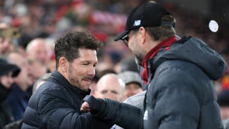Atletico Madrid alami kesialan berganda setelah kalahkan Liverpool di Liga Champions. - INDOSPORT