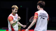 Indosport - Pebulutangkis ganda putra peringkat satu dunia, Kevin Sanjaya Sukamuljo memang sering buat komentator asing berdecak kagum oleh aksinya yang mengagumkan.