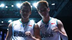 Indosport - Berhasil memecahkan rekor dari pasangan Korea Selatan, duet Kevin Sanjaya/Marcus Gideon ternyata belum berhasil melewati rekor 2 pebulutangkis ini, siapa?