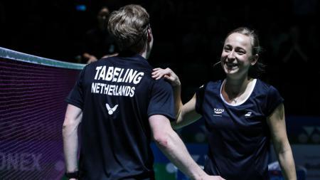 Pebulutangkis Belanda, Robin Tabeling ingin berduet dengan pemain yang menempati peringkat 1 dunia dengan 4 pemain berbeda yakni Lee Yong-dae. - INDOSPORT