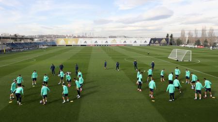 Real Madrid bakal tinggalkan Santigo Bernabeu dan bermain di Alfredo di Stefano Stadium, stadion kecil yang terletak di Valdebebas. - INDOSPORT
