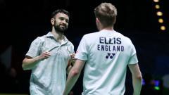 Indosport - Berikut hasil seluruh pertandingan final turnamen bulutangkis Denmark Open 2020, yang berlangsung Minggu (18/10/20) WIB.