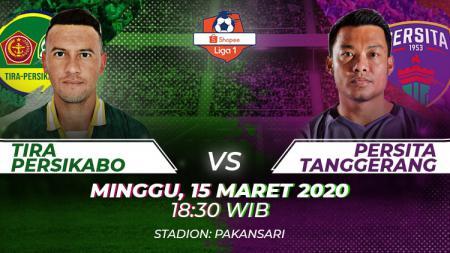 Prediksi Liga 1 2020 Tira Persikabo vs Persita Tangerang - INDOSPORT