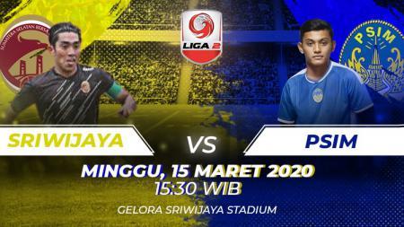 Prediksi Liga 2 Sriwijaya FC vs PSIM Yogyakarta. - INDOSPORT