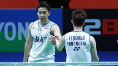 Indosport - Mimpi besar Kevin Sanjaya/Marcus Gideon untuk ciptakan rekor emas di sejarah bulutangkis sedikit terhambat karena masa pembekuan ranking BWF.