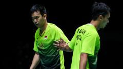 Indosport - Media malaysia mengklaim keputusan pebulutangkis ganda putra Indonesia, Hendra Setiawan kembali berduet dengan Mohammad Ahsan merupakan keputusan yang tepat.
