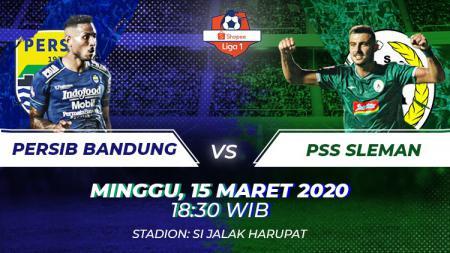Berikut prediksi pertandingan antara Persib Bandung vs PSS dalam lanjutan pekan ke-3 Liga 1 2020, Minggu (15/03/20) pukul 18.30 WIB. - INDOSPORT