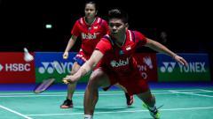 Indosport - Menang mudah dari pasangan Andika Ramadiansyah/Marsheilla Gischa Islami di ajang Mola TV PBSI Home Tournament, Praveen Jordan/Melati Daeva mengaku kaget.