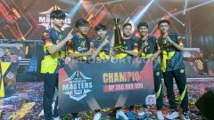 Indosport - ONIC Olympus dan Red Bull Rebellion, serta tim Island of Gods (IOG) memastikan titel juara grup di ajang Free Fire Master League (FFML) Season III.