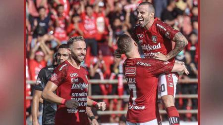 Gelandang Bali United, Paulo Sergio mengapresiasi kinerja tim setelah melibas Madura United 3-1 dalam laga pekan ketiga Liga 1 2020. - INDOSPORT