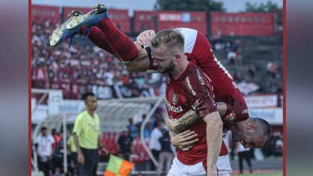 Berikut tersaji hasil pertandingan Shopee Liga 1 Indonesia 2020 antara Bali United vs Madura United, dimana tuan rumah sukses bantai tim tamu. - INDOSPORT