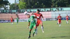 Indosport - Laga PSMS Medan vs Tiga Naga.