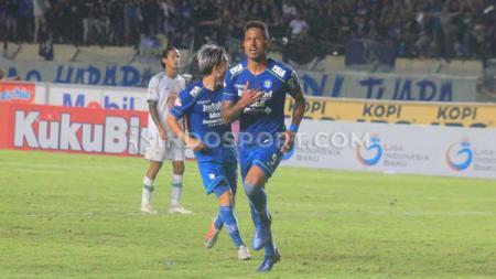 Persib Bandung berhasil meraih kemenangan pada hari ulang tahun ke-87 nya saat menjamu PSS Sleman - INDOSPORT