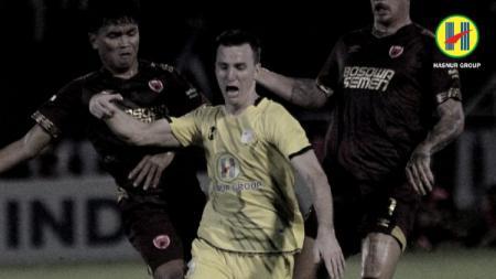 PSM Makassar dan Barito Putera harus puas berbagi satu poin di pekan ke-3 Liga 1 2020 usai bermain imbang dalam hasil pertandingan sama kuat 1-1. - INDOSPORT