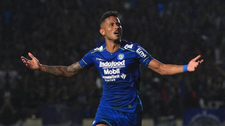 Striker Persib Bandung Wander Luiz (Brasil). Copyright: Twitter/@Liga1Match