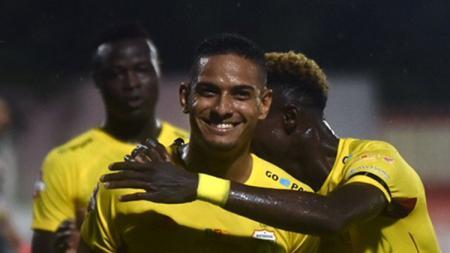 Gelandang serang Bhayangkara Solo FC, Renan da Silva. - INDOSPORT