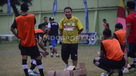 Kendati wabah virus corona membuat kompetisi Liga 2 2020 dihentikan, PSMS Medan masih beruntung karena tetap mendapat dukungan dari sponsor. - INDOSPORT