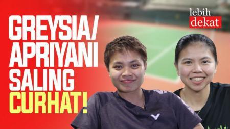 Ganda putri Indonesia, Greysia Polii/Apriyani Rahayu. - INDOSPORT