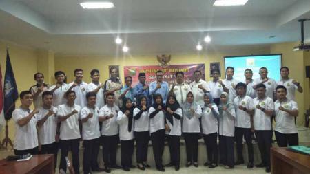 Pengurus Provinsi Persatuan Bulutangkis Seluruh Indonesia (Pengprov PBSI) Sulawesi Selatan membina 20 wasit mudanya. - INDOSPORT