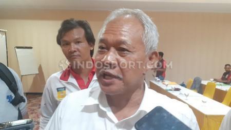 Technical Delegate (TD) cabang olahraga Tenis, Rudy Novrianto, optimistis jika venue yang akan digunakan pada perhelatan PON XX di Papua segera rampung. - INDOSPORT