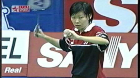 Cindana Hartono, satu-satunya tunggal putri yang juara di Swiss Open. - INDOSPORT