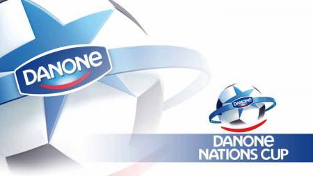 Logo Danone Nations Cup (DNC). - INDOSPORT