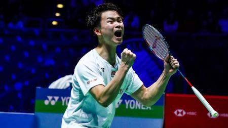 Yuta Watanabe ketika juara All England 2020 bersama Hiroyuki Endo. - INDOSPORT
