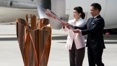Indosport - Obor Olimpiade 2020 sudah tiba di Jepang, Jumat (20/03/20).