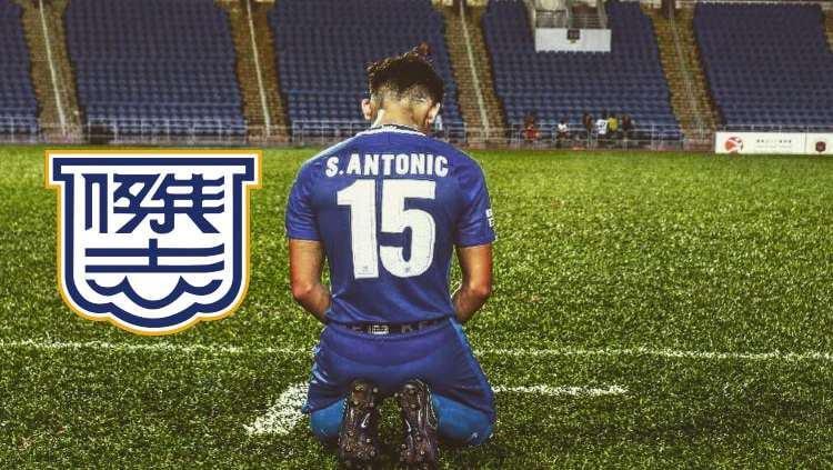Stefan Antonic, anak dari Dejan Antonic yang dipanggil ke Timnas Indonesia kini membela Kitchee SC Copyright: instagram.com/stefanantona
