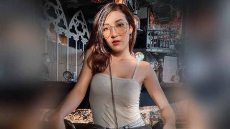 Francesca Russo, model cantik asal Thailand. - INDOSPORT