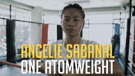Petarung MMA asal Filipina, Angelie Sabanal. - INDOSPORT