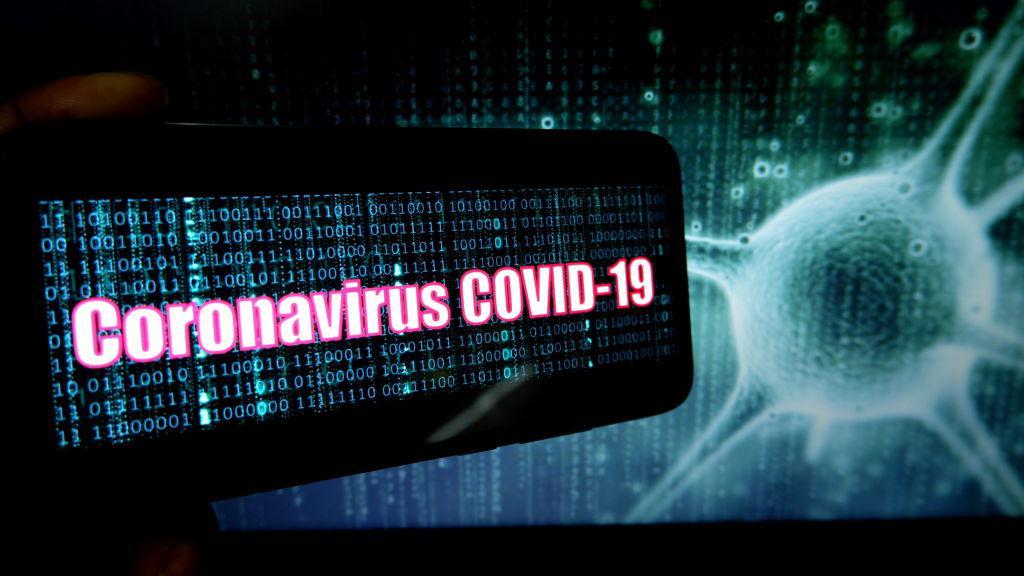 Ilustrasi Virus Corona Copyright: Illustration by Avishek Das/SOPA Images/LightRocket via Getty Images