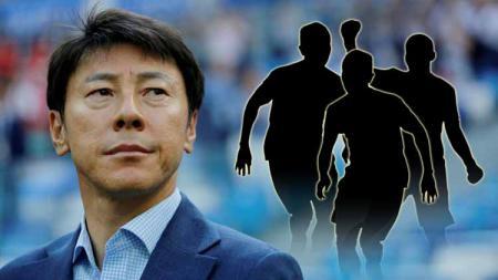 Pelatih Timnas Indonesia Shin Tae Yong. - INDOSPORT