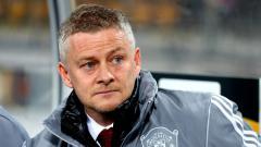 Indosport - Ole Gunnar Solskjaer, pelatih Manchester United saat mendampingi tim di Liga Europa.