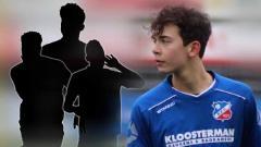 Indosport - Jim Croque, salah satu pemain keturunan Indonesia yang merumput bersama klub Belanda, Vitesse U-17.