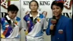 Indosport - Ganda putri Indonesia di Piala Uber 1994 dan 1996, Lili Tampi dan Christina Finarsih