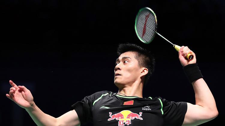 Fu Haifeng, Pebulutangkis China yang memiliki keturungan Indonesia Copyright: Getty Images