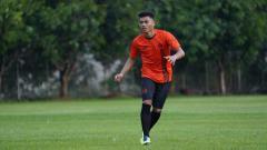 Indosport - Pemain Persija Jakarta Alfath Fathier.