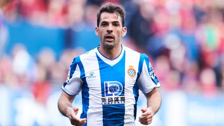 Victor Sanchez, pemain Real Madrid yang tengah dipinjamkan ke Espanyol Copyright: Juan Manuel Serrano Arce/Getty Images