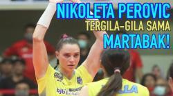 Nikoleta Perovic, pemain voli asing dari tim Proliga Bandung BJB Tandamata.