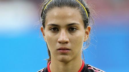 Pemain sepak bola wanita Timnas Meksiko bernama, Nayeli Rangel - INDOSPORT