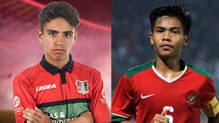 Sinjo Leninduan dan David Maulana, sepertinya layak untuk dibandingkan kualitasnya sebagai gelandang muda terbaik untuk Timnas Indonesia. - INDOSPORT