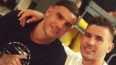 Lucas Hernandez mengajak sang adik main bersamanya di klub Bundesliga Jerman, Bayern Munchen. - INDOSPORT