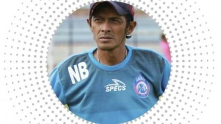 Noordin Bastian, pelatih Arema FC U-20 yang meninggal dunia. - INDOSPORT