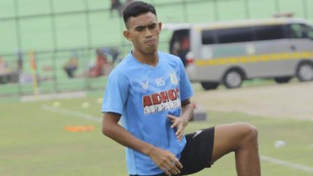 Pemain PSMS Medan asal Ternate, Hamdi Sula. - INDOSPORT