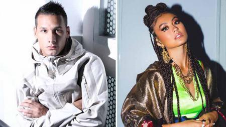 Agnez Monica dan Raphael Maitimo kembali menunjukkan gestur mesra di Instagram. Hal itu mengundang komentar dari netizen. - INDOSPORT